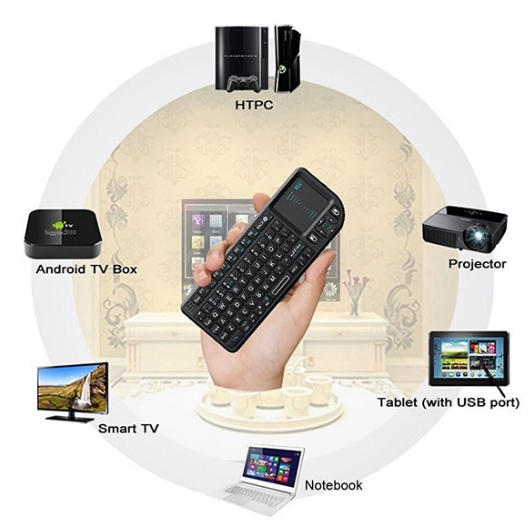 Keyboard air mouse Rii x1